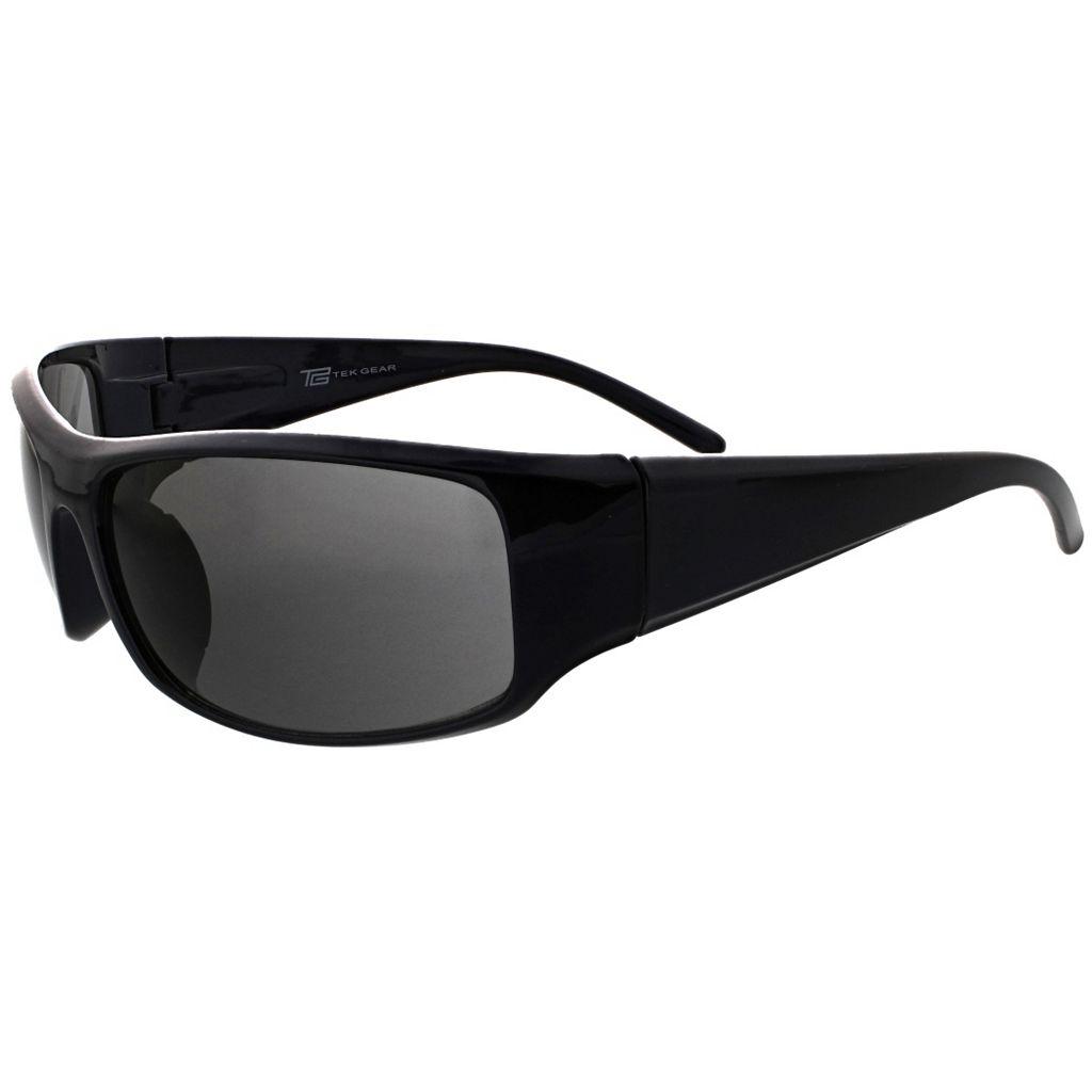 Men's Tek Gear® Polarized Wrap Sunglasses
