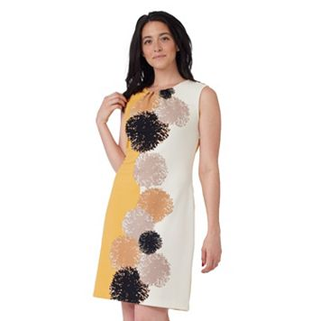 Women's ILE New York Abstract Print Sheath Dress
