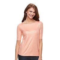 Women's Apt. 9® Essential Boatneck Tee