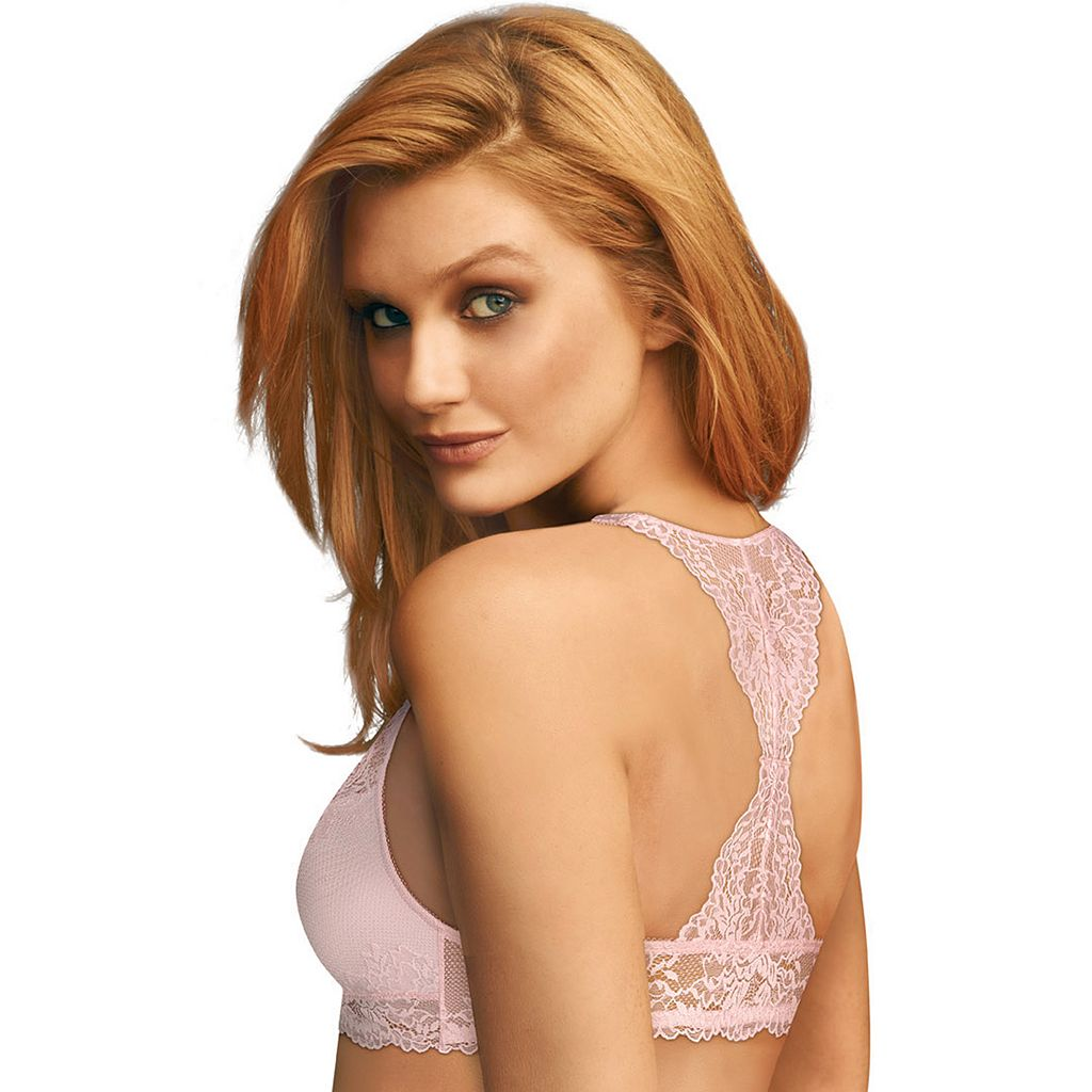 Maidenform Bras: T-Back Lace Bralette DM1126