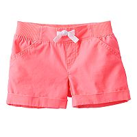 Girls 4-10 Jumping Beans® Rolled Cuff Shorts