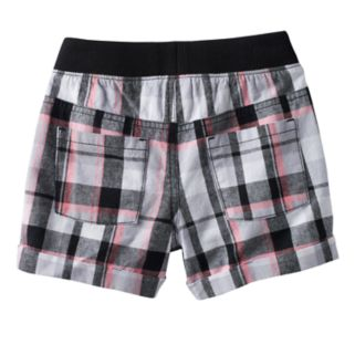 Girls 4-10 Jumping Beans® Plaid Shorts