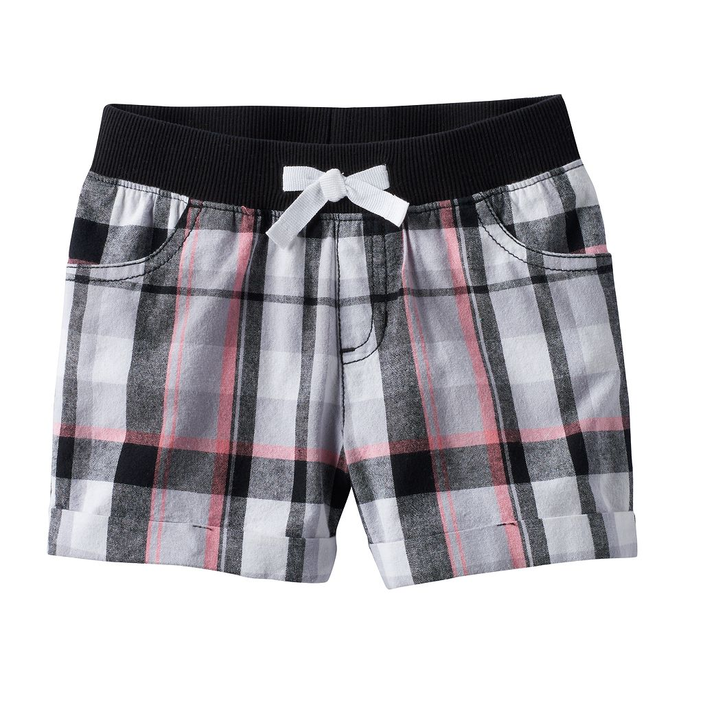 Girls 4-10 Jumping Beans® Plaid Shorts