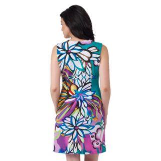 Women's ILE New York Floral Sheath Dress