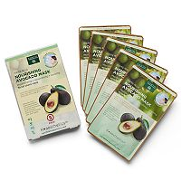 Earth Therapeutics 5 pkNourishing Avocado Face Masks