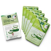 Earth Therapeutics 5-pk. Soothing Aloe Vera Face Masks