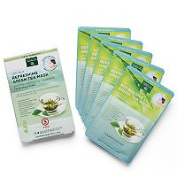 Earth Therapeutics 5 pkRefreshing Green Tea Face Masks