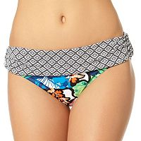 Women's Cole of California Wild Heart Floral Bikini Bottoms