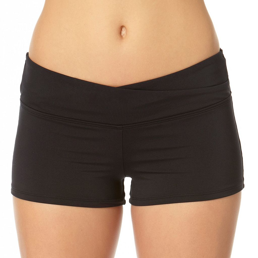 Women's Cole of California Twist Boyshort Bottoms