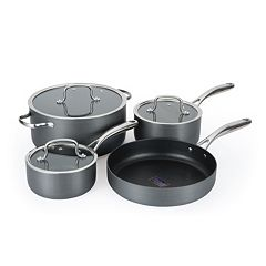 Hamilton Beach 7 pc Hard Anodized Cookware Set