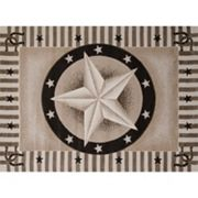 United Weavers China Garden Texas Road Star Rug