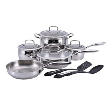 Hamilton Beach 11-pc. Stainless Steel Cookware Set