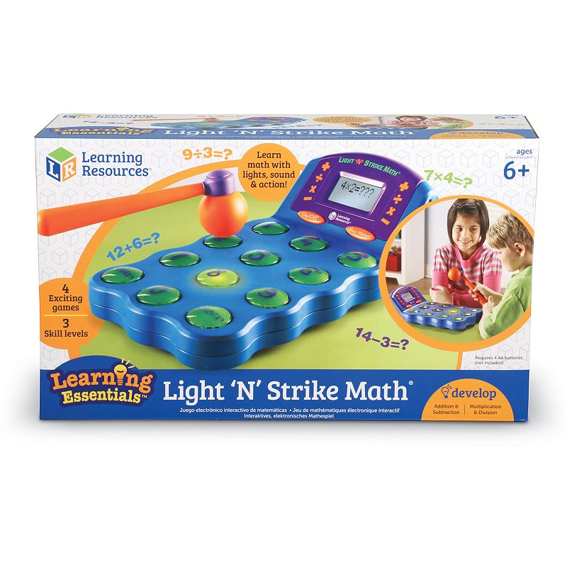 Learning Resources Light 'n' Strike Math - 1 ct.