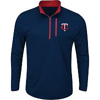 Men's Majestic Minnesota Twins Six Three Four Pullover