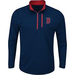 Men's Majestic Boston Red Sox Six Three Four Pullover