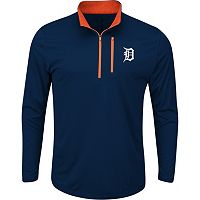 Men's Majestic Detroit Tigers Six Three Four Pullover