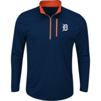 Men's Majestic Detroit Tigers Six Three Four Pullover