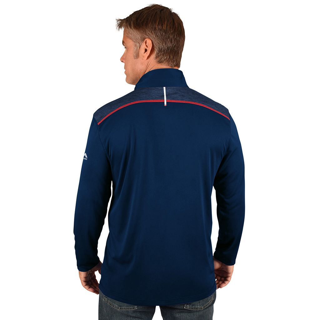 Men's Majestic Washington Nationals Six Three Four Pullover