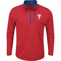 Men's Majestic Philadelphia Phillies Six Three Four Pullover