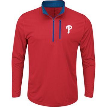 Men's Majestic Philadelphia Phillies Six Three Four Pullover