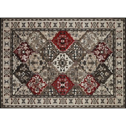 United Weavers China Garden Spectral Framed Floral Rug