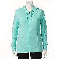 Plus Size Tek Gear® Dry Tek Zip-Front Hoodie