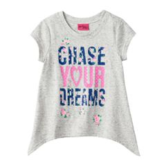 Girls 4-6x 'Chase Your Dreams' Tee
