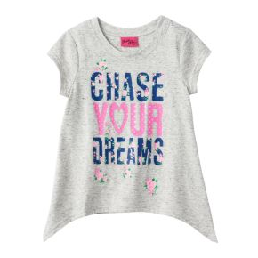 """Girls 4-6x """"Chase Your Dreams"""" Tee"""