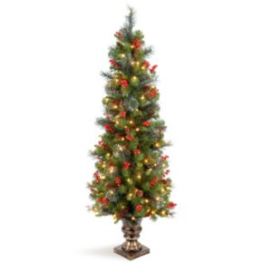 National Tree Company 5 ft. Artificial Crestwood Spruce Entrance Christmas Tree