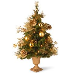 National Tree Company 3 ft. Artificial Elegance Entrance Christmas Tree