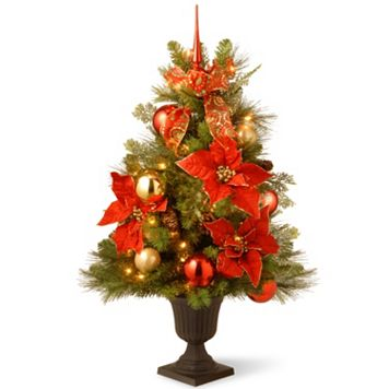 National Tree Company 3 ft. Artificial Home For the Holidays Entrance Christmas Tree