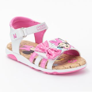 Disney Minnie  Mouse Toddler Girls' Light-Up Sandals