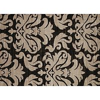 United Weavers China Garden Lotus Canvas Damask Rug