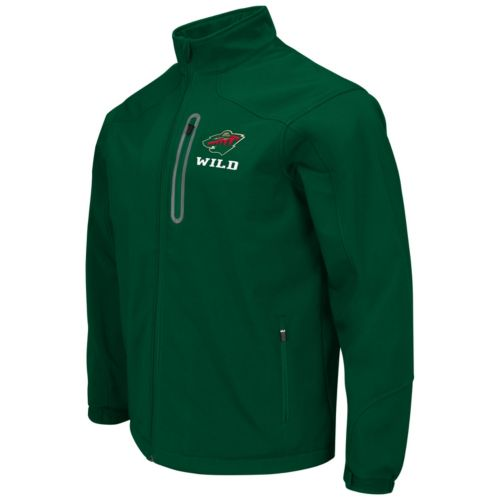 Men's Minnesota Wild Softshell Jacket