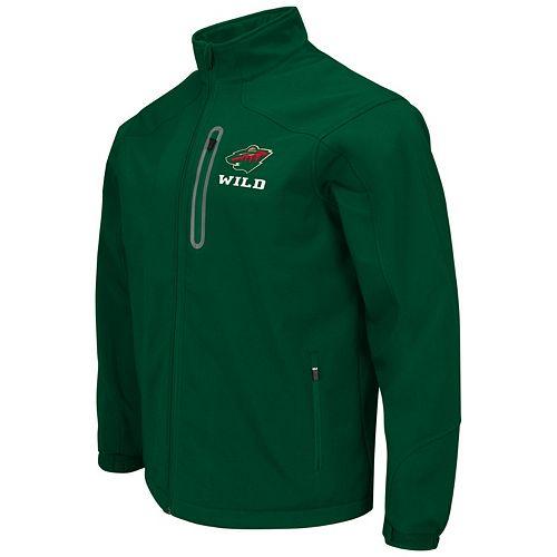 Men's Minnesota Wild Softshell Jacket