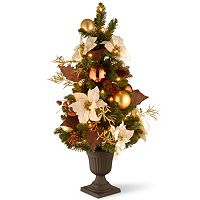 National Tree Company 3 ft. Artificial Inspired by Nature Entrance Christmas Tree