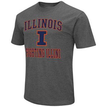 Men's Campus Heritage Illinois Fighting Illini Logo Tee