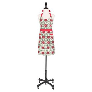 KAF HOME Poinsettia Apron