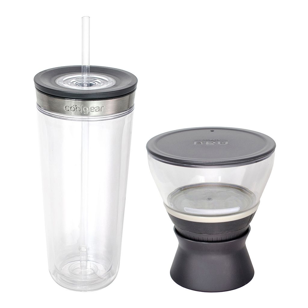 Cool Gear BRU 2-pk. Cold Brew Cup & Brewer