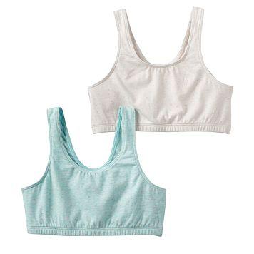 Girls SO® 2-pk. Speckle Sports Bras