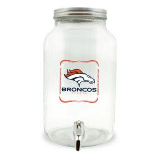 Denver Broncos 3-Liter Glass Beverage Dispenser