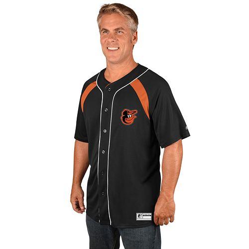 Men's Majestic Baltimore Orioles Train the Body Jersey