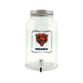 Chicago Bears 3-Liter Glass Beverage Dispenser