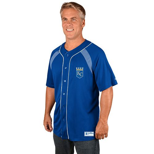 Men's Majestic Kansas City Royals Train the Body Jersey