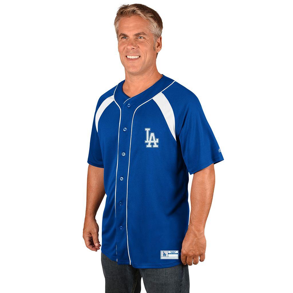 Men's Majestic Los Angeles Dodgers Train the Body Jersey