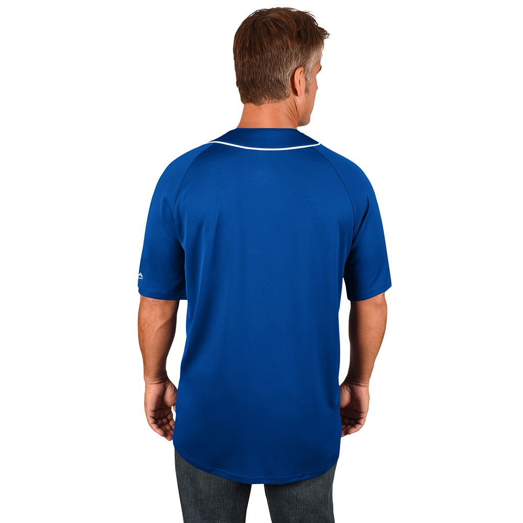 Men's Majestic Los Angeles Dodgers Train the Body Jersey