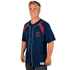 Men's Majestic Cleveland Indians Train the Body Jersey