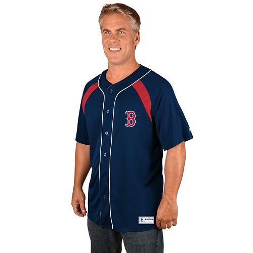 Men's Majestic Boston Red Sox Train the Body Jersey