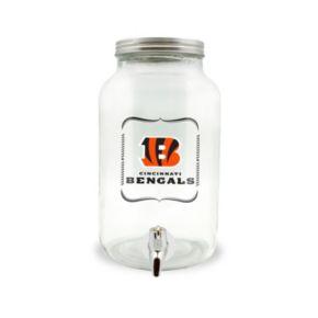 Cincinnati Bengals 3-Liter Glass Beverage Dispenser