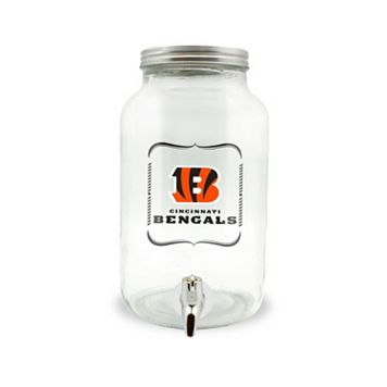 Cincinnati Bengals 3-Liter Glass Beverage Dispenser